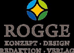 Logo Rogge GmbH Konzept Design Redaktion Verlag